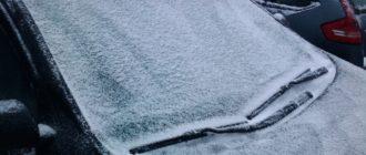 Как очень быстро избавиться от ледяной корки на стекле автомобиля?