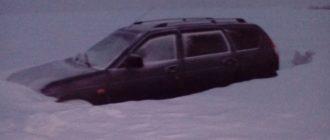 Как выжить на трассе зимой в застрявшей машине