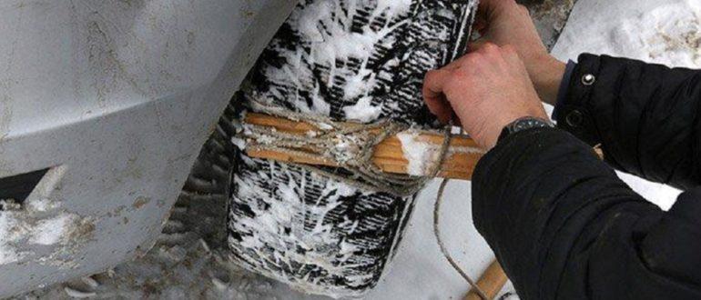 Почему зимой необходимо возить с собой веревку в багажнике