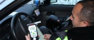 «Дунем в трубочку?»: как инспектор ДПС хотел развести с липовым алкотестером