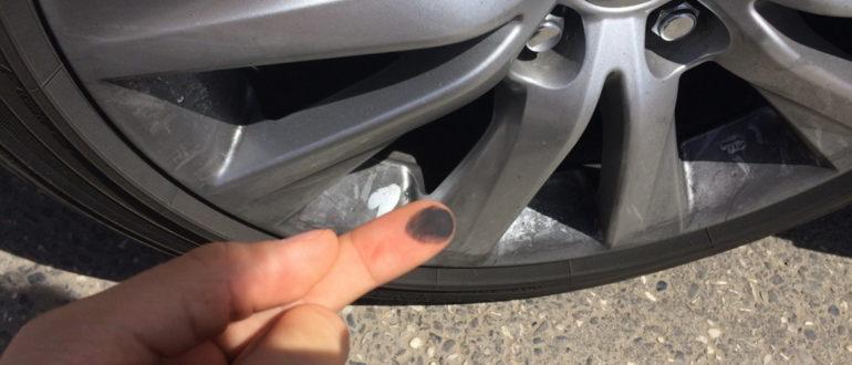 Самый простой способ избавиться от черного налета на колесных дисках