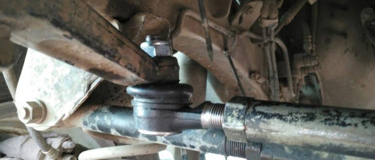 Как заменить рулевые наконечники и не делать развал-схождение
