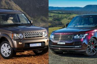 Чем отличается Range Rover от Land Rover