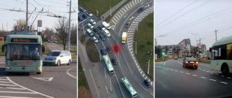 Как правильно проезжать нерегулируемое кольцо на дороге