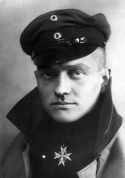 Барон Манфред Альбрехт фон Рихтгофен