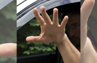Что означает ладонь с растопыренными пальцами