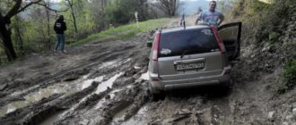 Как вытащить машину из грязи одному