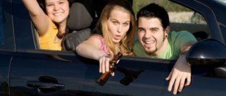 Можно ли пить в заглушенной машине