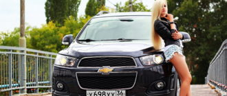 Как блондинка потеряла дно автомобиля