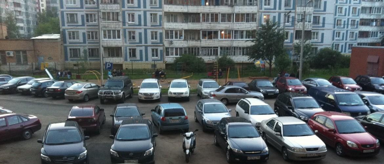ЦОДД предлагает упорядочить движение во дворах
