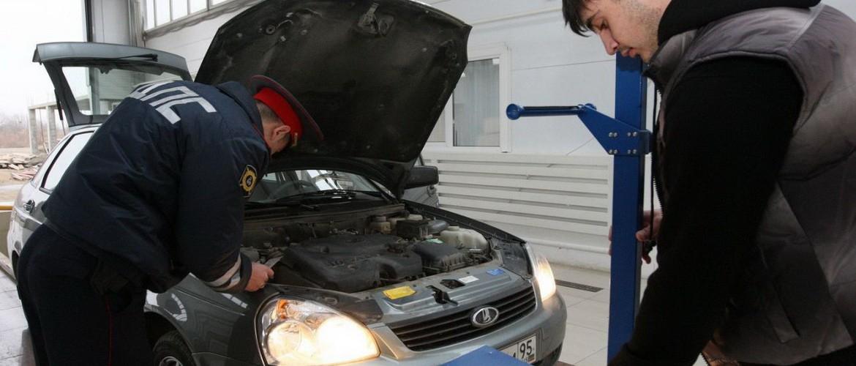 МВД предлагает фиксировать техосмотр машин на видео