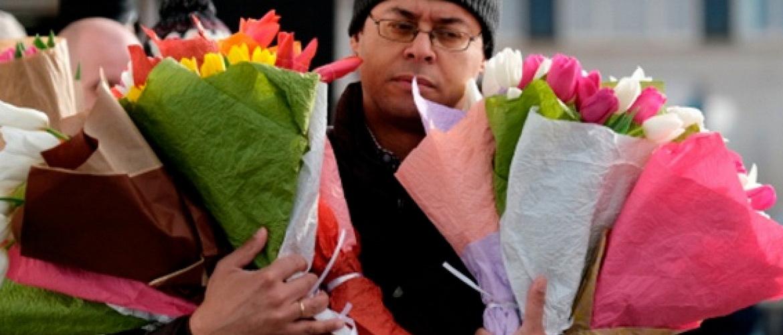 Водителей предупреждали о цветочных заторах
