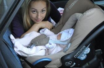 Как перевозить ребенка в машине