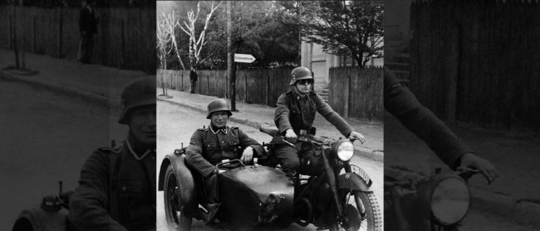 Как в СССР справлялись с фашистскими мотоциклетными ротами
