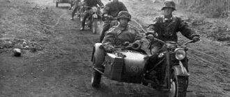 «В одиночку противостоять фашистам»: как 5 советских солдат смогли в одиночку расправиться с отрядом фашистских мотоциклистов