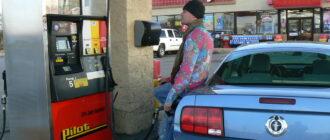 Сколько литров в галлоне бензина США