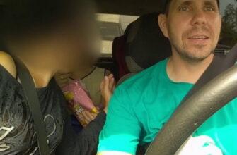 Яжмать в такси — неадекватная пассажирка с детьми устроила беспредел