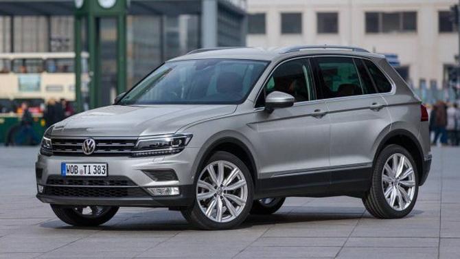 Volkswagen Tiguan Владлены Мишустиной