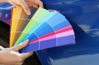 Как узнать код краски автомобиля по вин коду