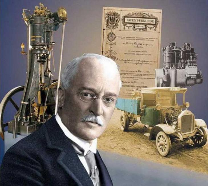 Кто изобрел дизельный двигатель
