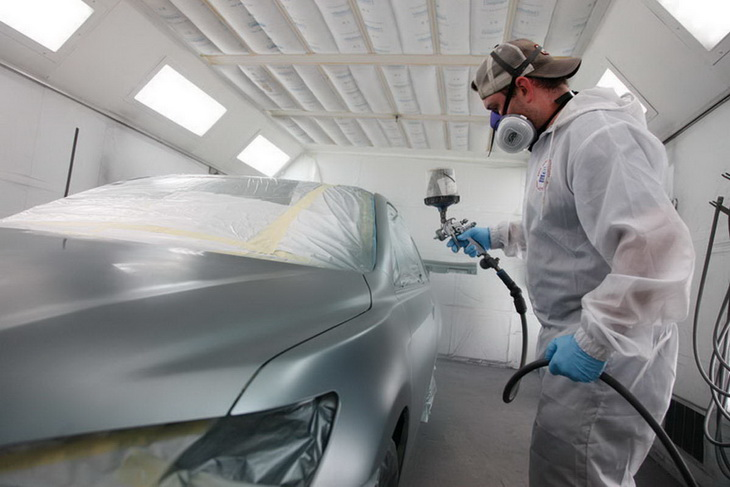 Сколько сохнет машина после покраски