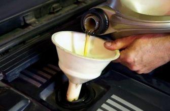 Перелив масла в двигатель последствия